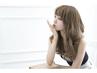 上質モロッカン艶髪カラー+小顔カット+ヒアルロン酸Treatment →¥9980