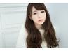 小顔カット+美肌カラー+炭酸泉☆ ¥12.960→¥9.180