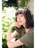 【前髪カット無料☆】カラー+ローライト+ジョンマスターtreatment ¥8640