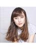 【くせ毛にお薦め】カット+前髪ストレートパーマ¥8560 青山 表参道