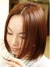 毛髪修復&改善カラー+カット+トリートメント【長さ一律】 ¥20580