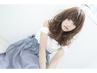 コスメ低温デジタルパーマ+小顔カット ¥13.500→¥9.720