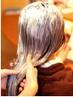 【贅沢ツヤ髪カラー&ヘッドスパ】カット+M3Dカラー+ヘッドスパ ¥12960