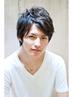 【メンズ限定】スタイリッシュカット&オーガニックカラー ¥7560