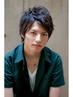 【メンズ限定】スタイリッシュカット&デザインパーマ ¥7980