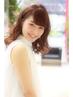 【炭酸泉付プラチナプラン】グロスヴェールカラー+極上Aujua Tr ¥7700