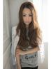 【艶やかで美しい髪に♪】グロスカラー+カット+ハホニコトリートメント¥11670